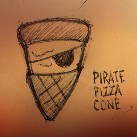 Pirate Pizza Cone featured image